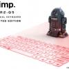 スター・ウォーズファン必見!数量限定R2-Q5型バーチャルキーボード。まだ間に合う。